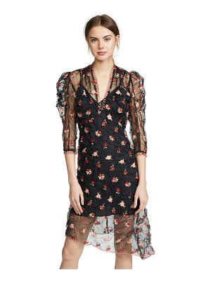 Anna Sui crinkle flower dress