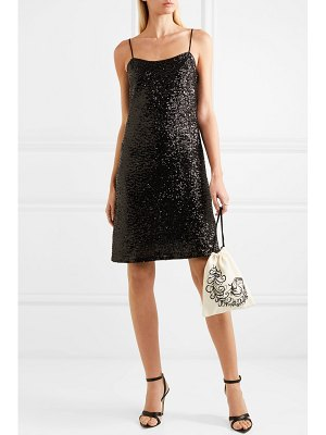 Anna Sui sparkling nights sequined mesh dress