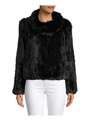 Annabelle New York Rabbit Fur Jacket