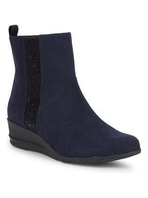 Anne Klein Carlota Wedge Ankle Boots
