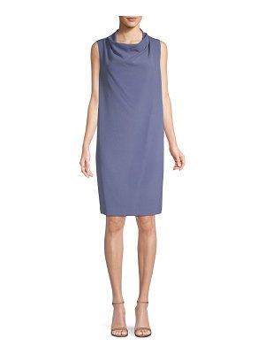Anne Klein Cowlneck Sheath Dress