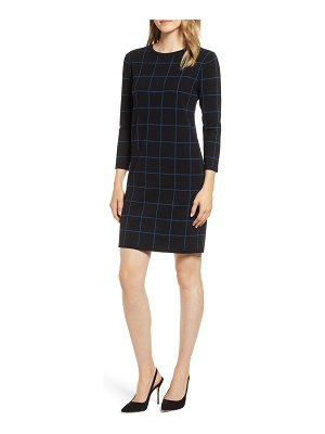 Anne Klein crewneck sweater dress