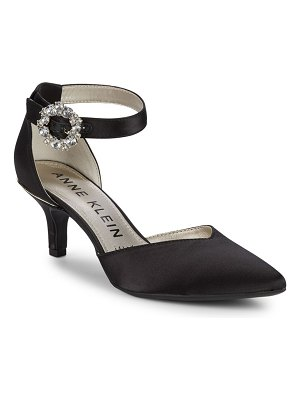 Anne Klein Fantine Satin Pumps
