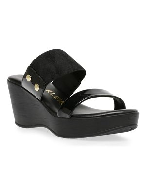 Anne Klein hampton wedge slide sandal