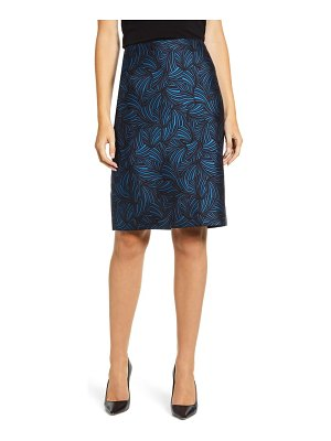 Anne Klein jacquard pencil skirt