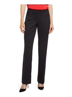Anne Klein mini flare leg black pants
