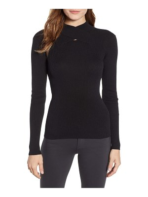 Anne Klein mock neck top