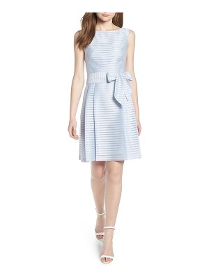 Anne Klein new york sleeveless shadow stripe dress