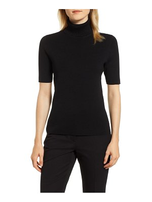 Anne Klein ribbed turtleneck top
