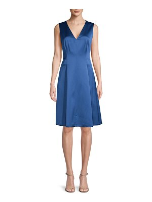 Anne Klein Sleeveless Pleated Dress