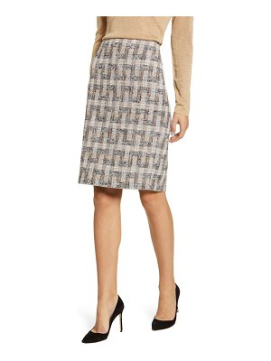 Anne Klein tweed pencil skirt