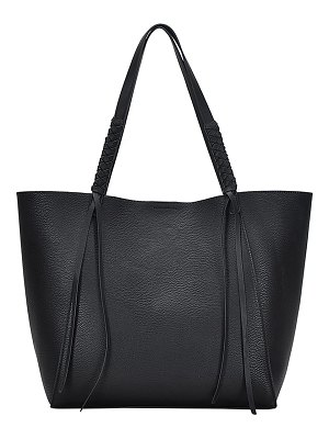 ANTIK KRAFT knotted strap faux leather tote