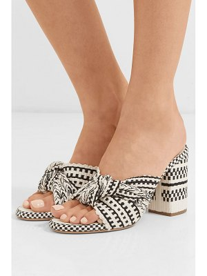 Antolina biaga braided cotton mules