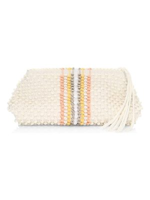 Antonello Tedde cotton striped crossbody bag