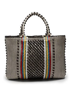 Antonello Tedde Telti Striscia striped cotton tote