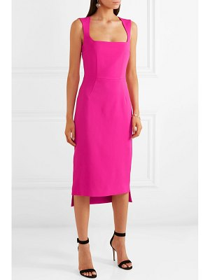 Antonio Berardi asymmetric bow-embellished crepe dress