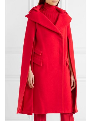 Antonio Berardi cape-effect wool and mohair-blend coat