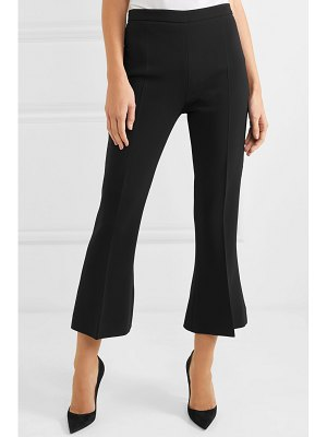 Antonio Berardi cropped stretch-cady flared pants