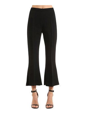 Antonio Berardi Flared & cropped stretch cady pants