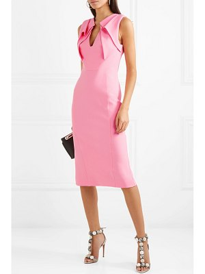 Antonio Berardi folded crepe dress