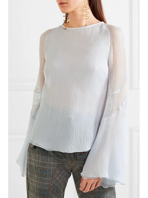 Antonio Berardi silk-crepon top