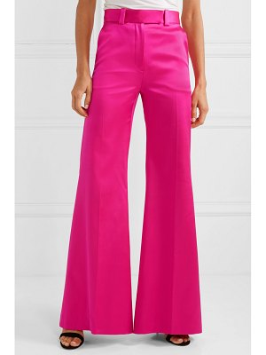 Antonio Berardi silk-satin wide-leg pants