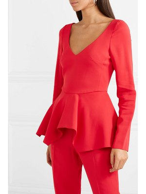 Antonio Berardi stretch-cady peplum top