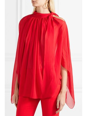 Antonio Berardi tie-neck silk-chiffon top