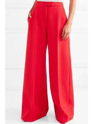 Antonio Berardi wool-blend crepe wide-leg pants