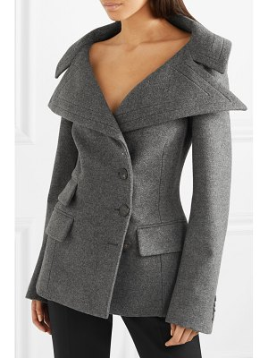 Antonio Berardi wool-blend felt jacket