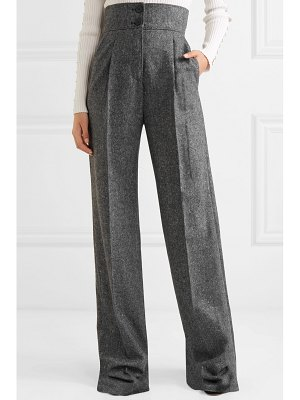 Antonio Berardi wool-tweed wide-leg pants
