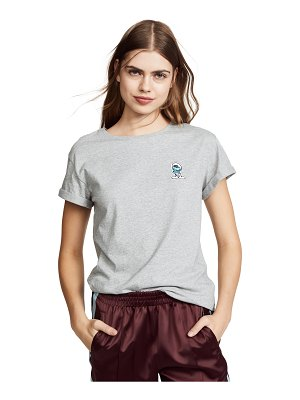 Anya Hindmarch brainy smurf t-shirt