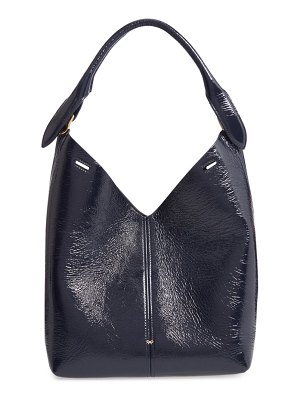 Anya Hindmarch build a bag small patent leather base bag