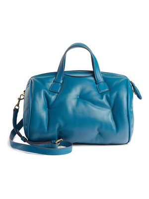 Anya Hindmarch chubby barrel nappa leather satchel