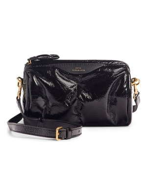 Anya Hindmarch chubby barrel patent leather satchel
