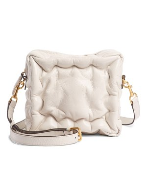 Anya Hindmarch chubby cube lambskin leather crossbody bag