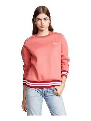 Anya Hindmarch chubby heart sweatshirt
