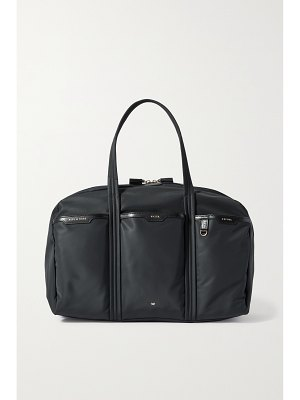 Anya Hindmarch gym leather-trimmed recycled shell tote
