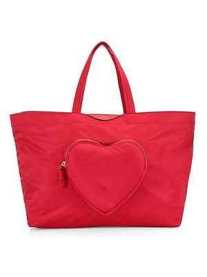 Anya Hindmarch large chubby heart tote