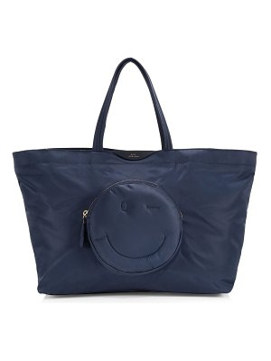 Anya Hindmarch large chubby tote bag