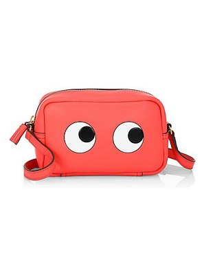 Anya Hindmarch mini eyes leather crossbody bag