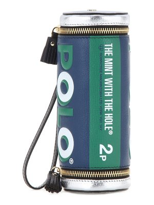 Anya Hindmarch Polo printed leather clutch