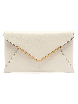 Anya Hindmarch postbox leather clutch bag