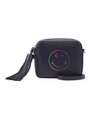 Anya Hindmarch rainbow wink in circus crossbody bag