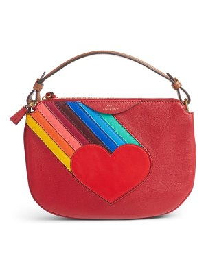 Anya Hindmarch the stack leather crossbody bag