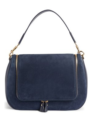 Anya Hindmarch vere maxi leather & suede satchel