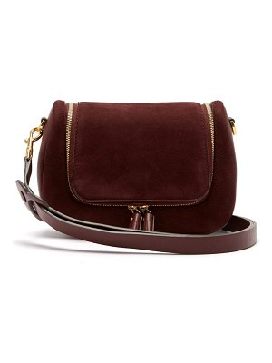 Anya Hindmarch Vere Small Suede Shoulder Bag