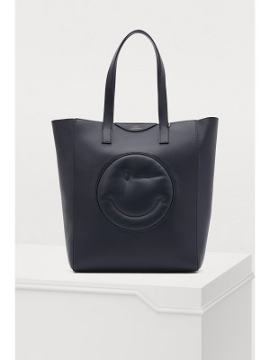 Anya Hindmarch Wink leather tote bag