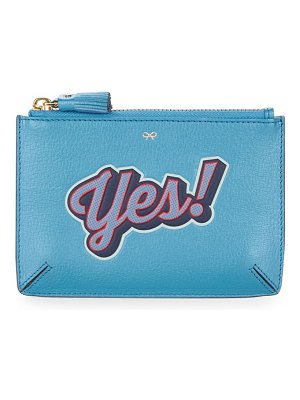 Anya Hindmarch Yes Leather Loose Pocket