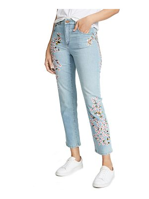 AO.LA by alice + olivia ao. la by alice + olivia amazing embroidered high rise jeans